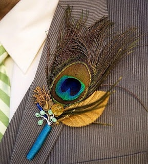 What a beautiful boutonniere.