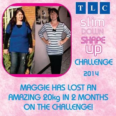 Maggie has lost an amazing 20kgs in 2 months on the Challenge!!! Well done Maggie! www.tlcforwellbeing.com