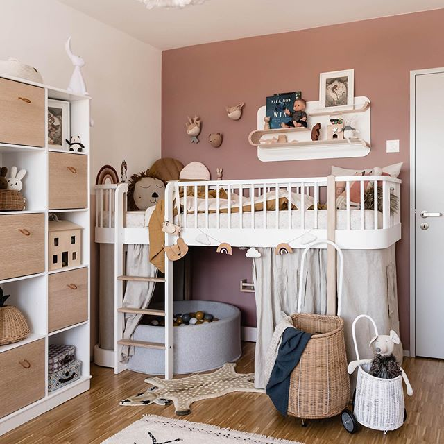 5 Tipps, um ein kleines Kinderzimmer einzurichten in 2020