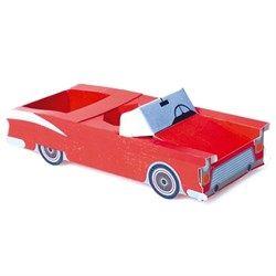 Cromus Carros Vintage - Suporte para Kit Lanche Garage 06 unidades