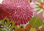 HD351 Dahlia Big Bold Floral Contemporary Scandinavian Modern Design Heavy Cotton Fabric Drapery Upholstery Fabric