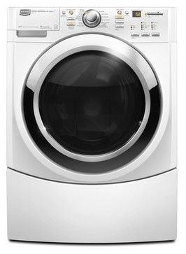Maytag Stackable Front-Load Washer - eclectic - laundry room appliances - Lowe's