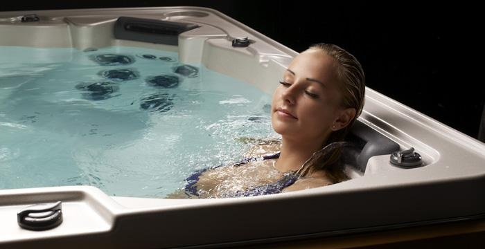 "The special ""HydroFall Pillows"" are soft cushions with built-in waterfall jets that focus on treating your...bliss!"