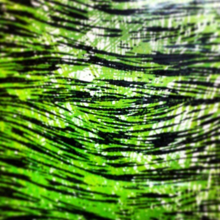 A pretty green