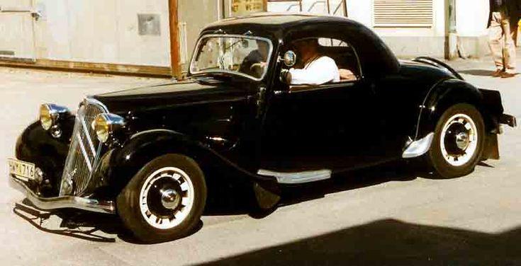 Citroen 7C Coupe 1937 - シトロエン・トラクシオン・アバン - Wikipedia