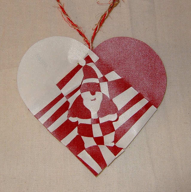 Danish Christmas Heart - Father Christmas
