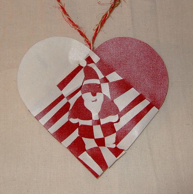 Danish Christmas Heart - Father Christmas
