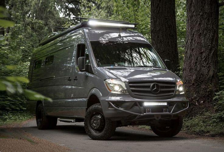 Camping car van Mercedes Sprinter relooké par Oustide Van
