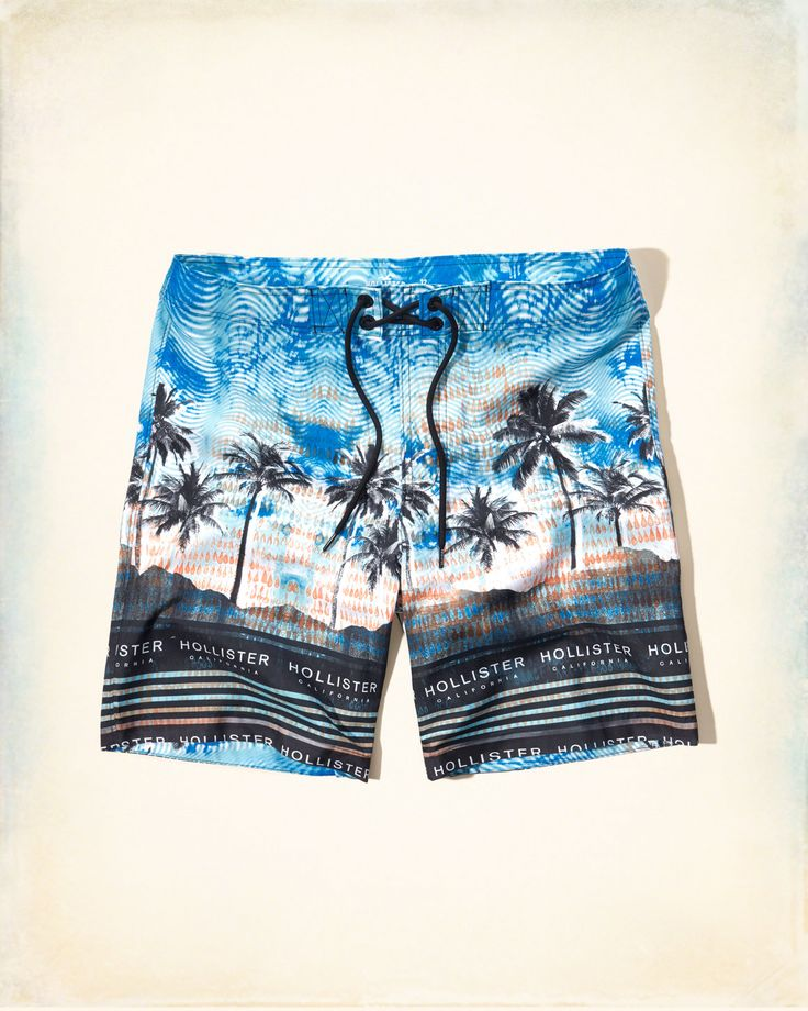 These bold new boardshorts are made to stand out on the beach. Vibrant color, iconic logo, velcro and lace-up closure, Classic Fit, hits at the knee, Imported | US$34.95 | Store Item: 333-340-0506-106 / Web Item: 122181