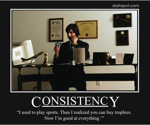 Consistency by Demetri Martin