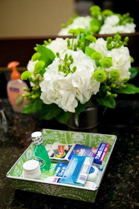 268 best Wedding Guest Bathroom Basket images on Pinterest ...