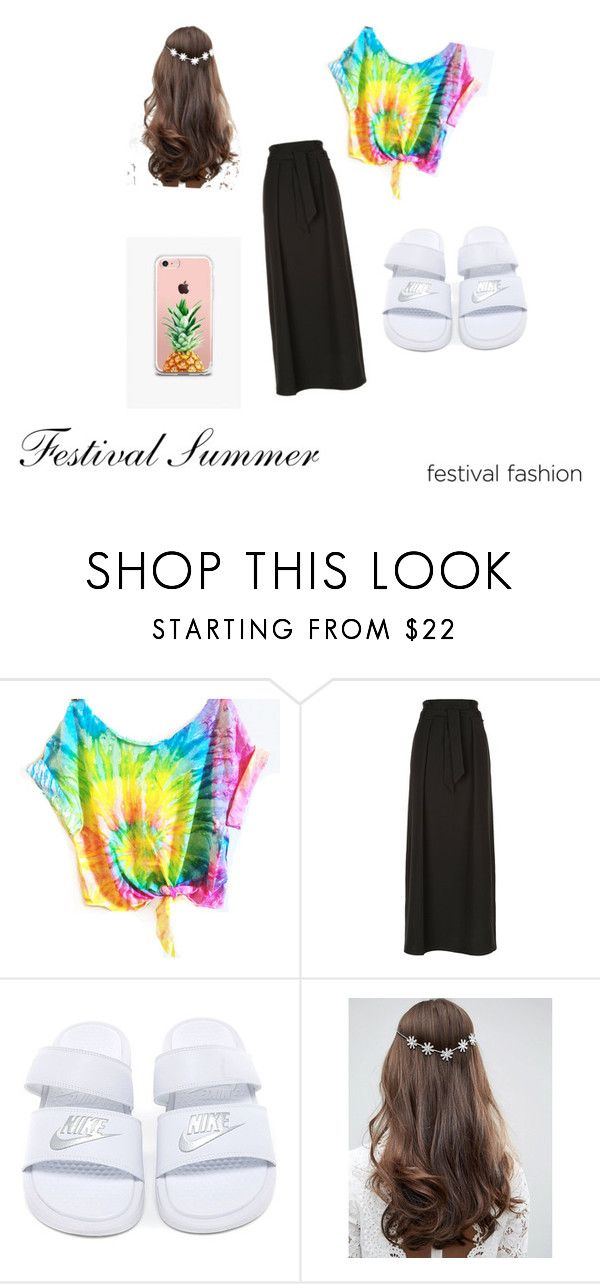 """""""Festival Summer #1"""" by vilja1995 on Polyvore featuring beauty, Armani Collezioni, ASOS and The Casery"""