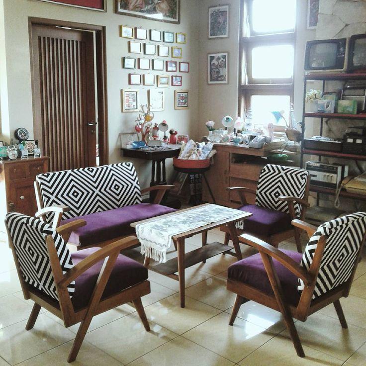 Ruang Tamu Minimalis Bergaya Klasik Vintage