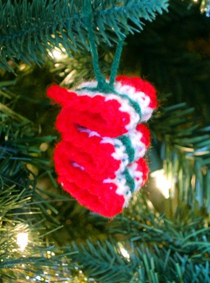 Ribbon Candy Ornament by Melissa Mall
