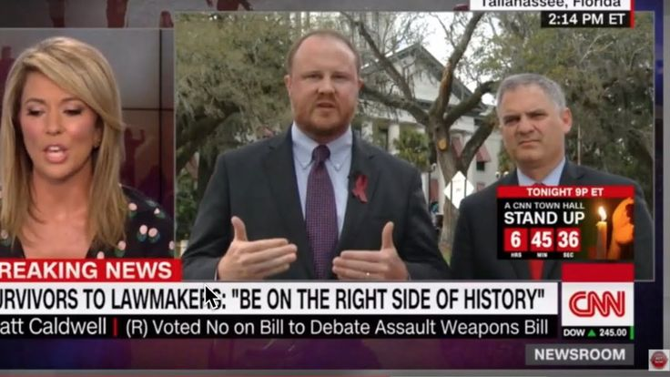 "Brooke Baldwin DESTR0YS Florida Lawmaker, ""SlR, ST0P Your Talking Points..."