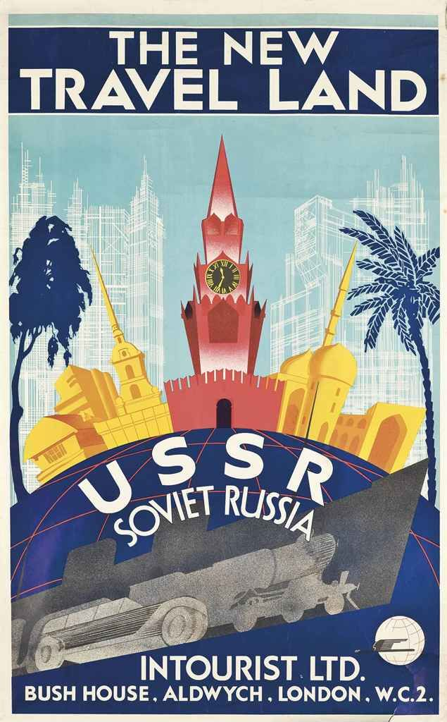 THE NEW TRAVEL LAND, USSR SOVIET RUSSIA