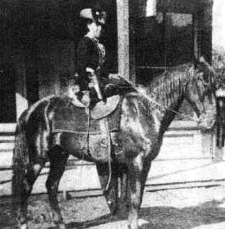 """Belle Starr --  """"I am a friend to any brave and gallant outlaw.""""  -- Belle Starr"""