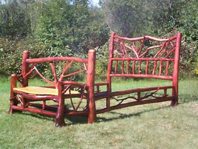 25 best ideas about adirondack furniture on pinterest - Adirondack style bedroom furniture ...