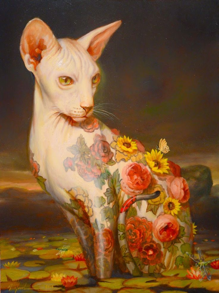 antblog: Martin Wittfooth | Pop Surrealism | Martin ...