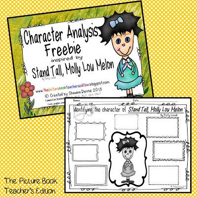 LESSON PLAN - Stand Tall Molly Lou Melon