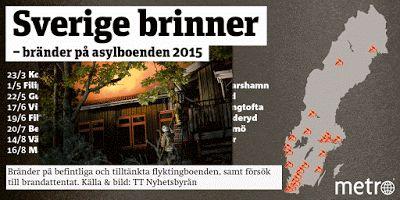 CRIME - SWEDEN: Metro har koll på asylbränderna, fritöserna och fa...