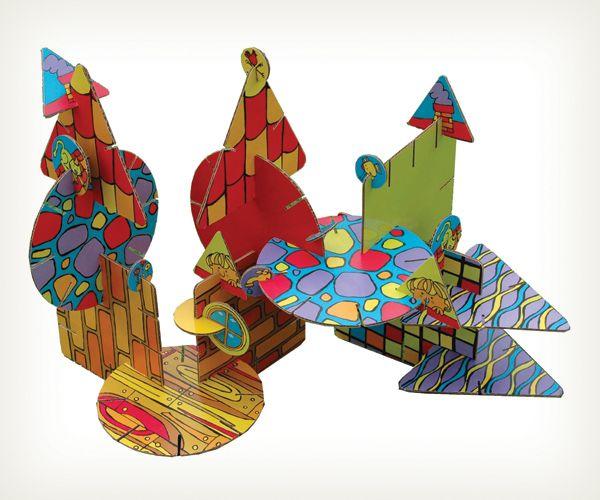 Juegos infantiles de Bricola Graciela y Suaya Gisela S.H., distinguidos con el Sello de Buen Diseño 2013.