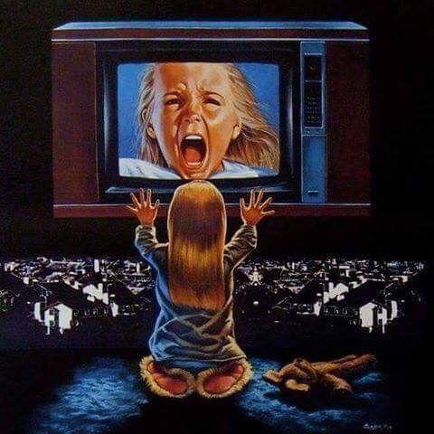 Horror Movie Art : Poltergeist