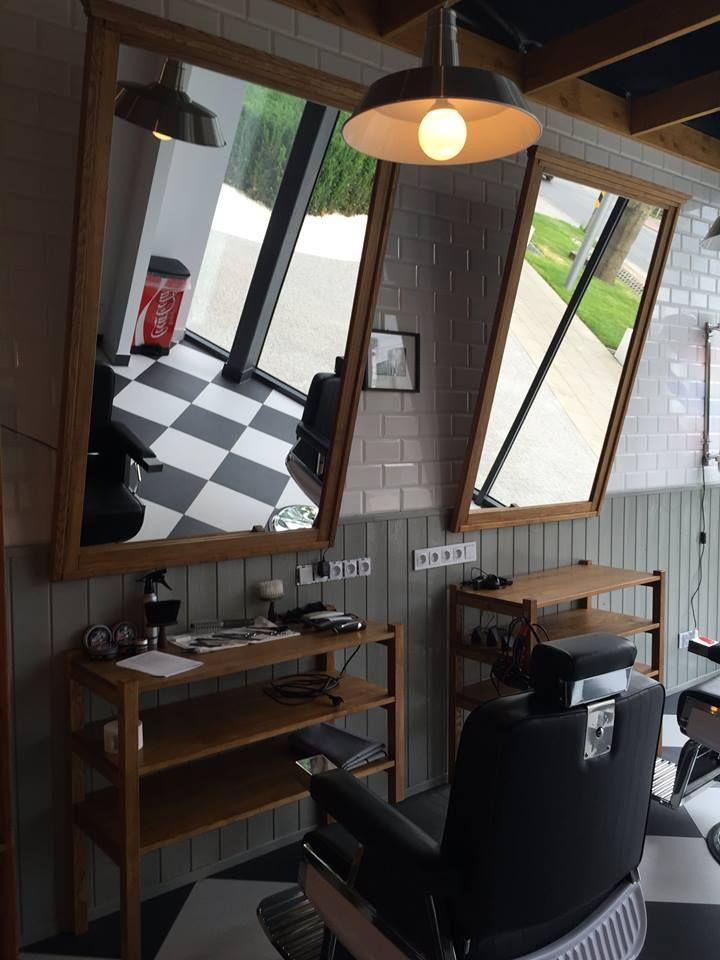 17+ Barbershop Ideas On Pinterest | Salon Design, Salon Stations