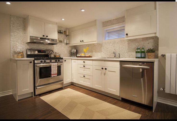 Luxe Contemporary Basement Suite Makeover   HGTV Canada   Income Property, Season 08, Episode 08 - Kitchen (Materials list: www.hgtv.ca/incomeproperty/shoppingguide/?epId=296962)