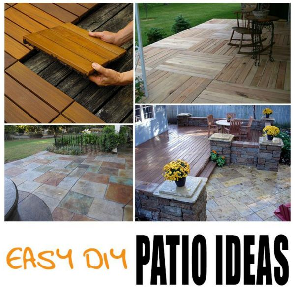 best 25+ easy patio ideas ideas on pinterest   diy patio, backyard ... - Easy Diy Patio Ideas
