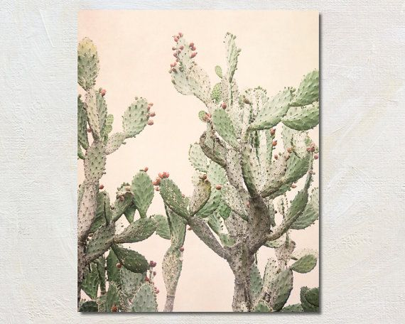 Hey, I found this really awesome Etsy listing at https://www.etsy.com/listing/281380726/cactus-print-blush-pink-and-green-wall