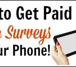 Get Paid For Surveys On Your Smartphone