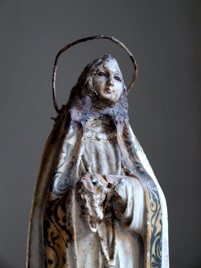 19世紀グラスアイ聖母マリア像 残欠                                                                                                                                                                                 もっと見る