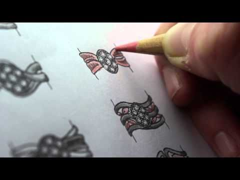 Jewellery Design Process - Hand Drawn Jewellery Sketches - CAD & CAM
