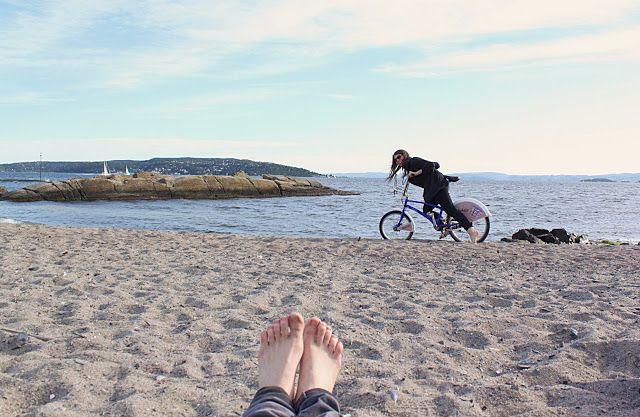 žít vege: Oslo II.  Zeleň, voda, vítr.