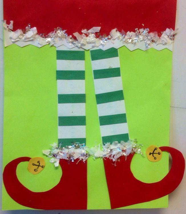 Elf Leg Art project
