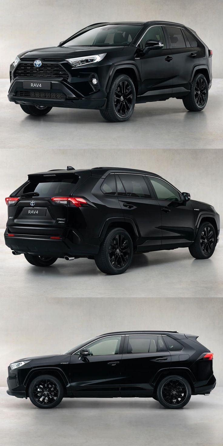 Meet The Toyota RAV4 Hybrid Black Edition. The handsome