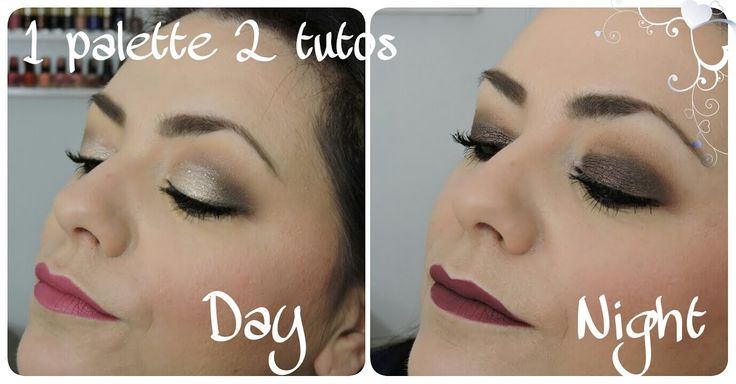 1 palette 2 makeup Day/Night Le grand palais Too faced