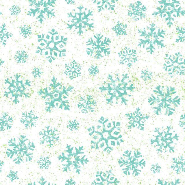 Owl Be Home For Christmas Snowflake White