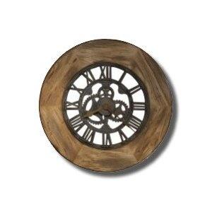 howard miller metal iron quartz oversize large wall clock