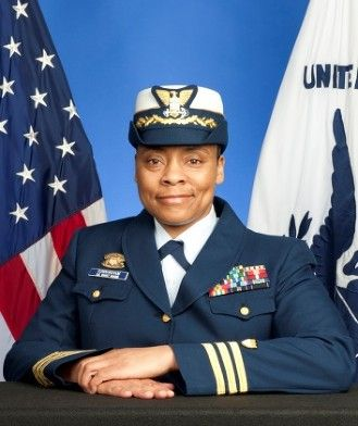 Recently selected for her next highest rank of Captain, Commander Lucinda Cunningham currently is the highest ranking African American female officer in the United States Coast Guard and serves as the Executive Assistant (EA) for CG-6, Assistant Commandant for Command, Control, Communications, Computers (C4) Headquarters in Washington, D.C.