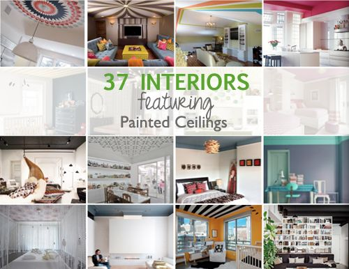 Extravaganza painted ceilings interiors for Cool painted ceilings