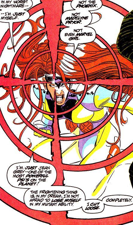 Jean Grey from Uncanny X-Men #300 (May 1993) - John Romita Jr. & Dan Green