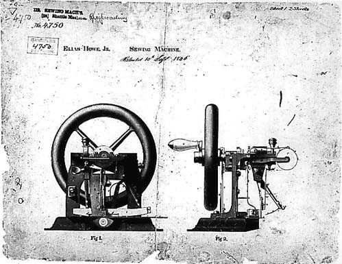 10 september 1846 ♦ Uitvinder Elias Howe presenteert zijn naaimachine.