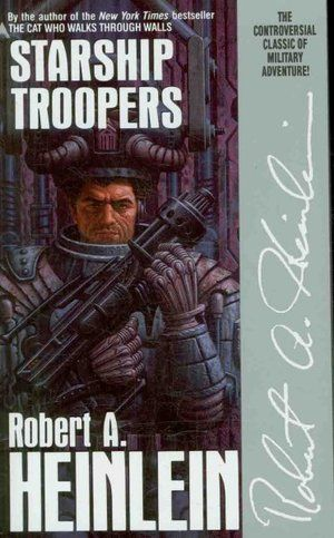 Starship Troopers by Robert A. Heinlein In one of Robert A. Heinlein's most controversial novels, a recruit of the future goes through the toughest boot camp in the universe and into battle with the Terran Mobile Infantry against humankind's most frightening enemy.