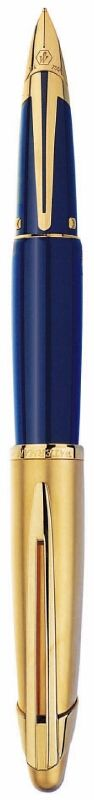 Waterman Edson Sapphire Blue Fountain Pen - I want the fine nib one... Maybe in 2013, when I win the lottery... £439