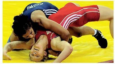 Geeta Phogat  Bronze-Medal FILA Wrestling World Championships Stratha County-2012