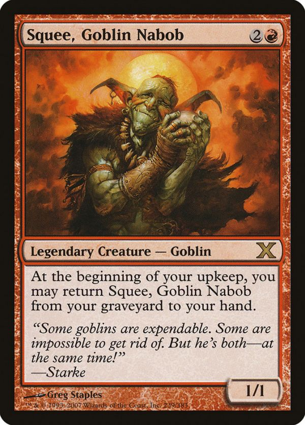 Goblin Nabob ~ Ultimate Masters Squee Magic MTG NearMint
