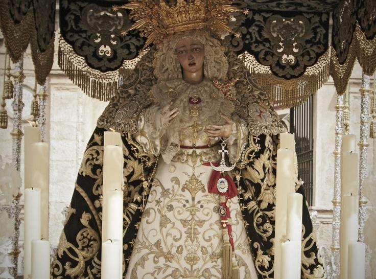 La Trinidad, Sábado Santo. Semana Santa Sevilla 2012