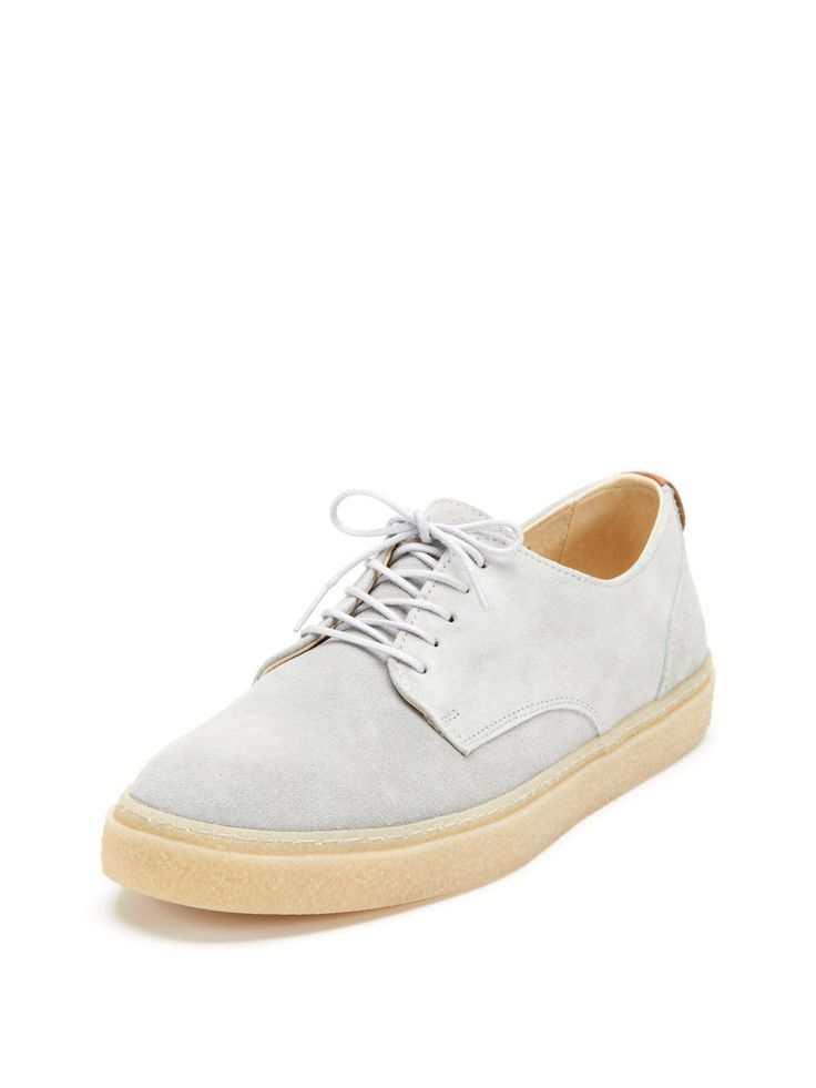 Tempest Suede Low-Top Sneakers by Fred Perry at Gilt